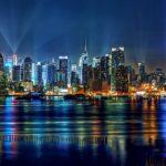 Ночной мегаполис